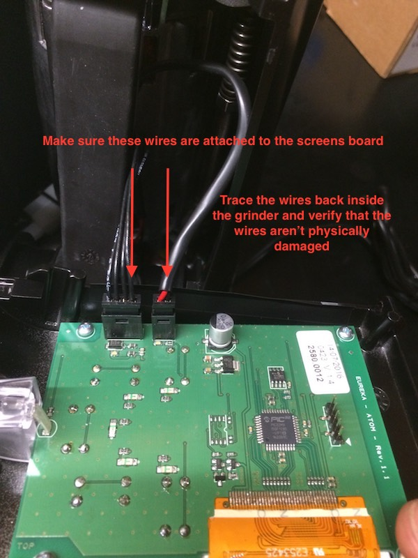 Atom - Troubleshooting Screen Issues – Clive Coffee Eureka Wiring Diagram on