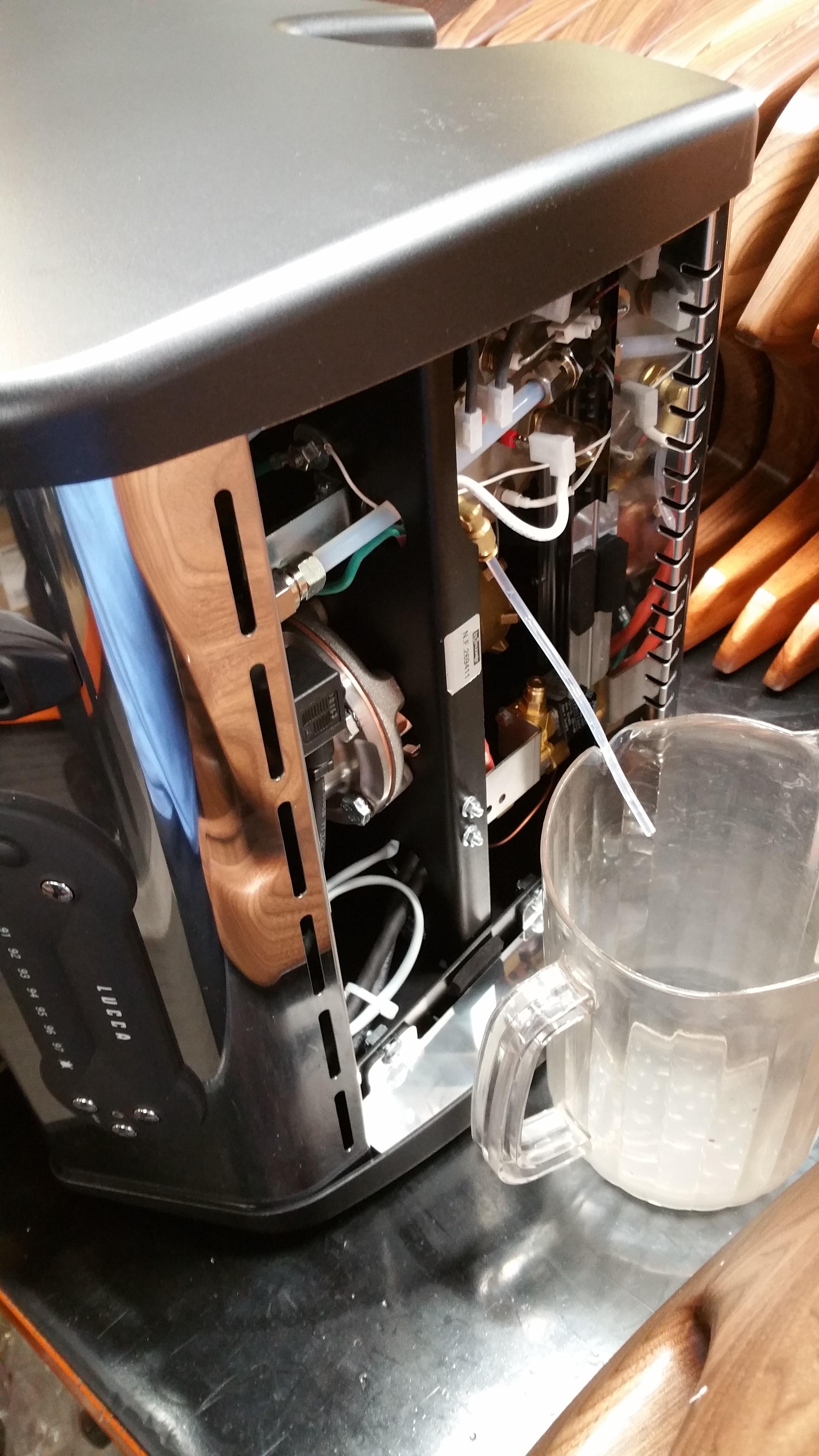 La Spaziale Lucca A53 Mini Draining Steam Boiler With No border=