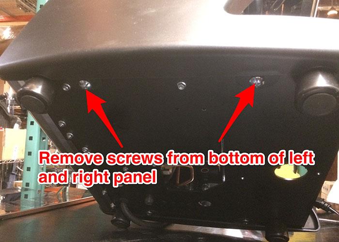 La Spaziale Lucca A53 Panel Removal Clive Coffee border=